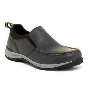 Rockport W360M Moc Slip-On Wide Leather Sneakers
